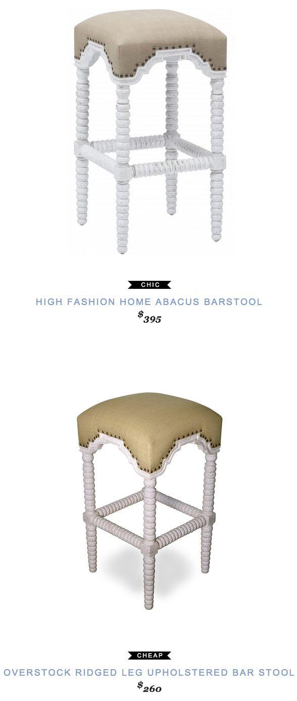 High Fashion Home Abacus Barstool | High fashion home