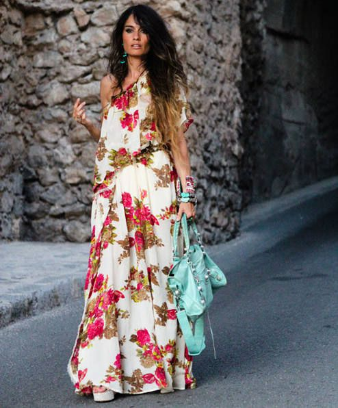 Maxi Dress by Madame De Rosa