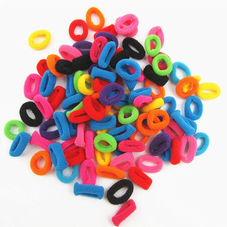 Wholesale 100/Pcs Colorful Rainbow Cute Hair Band Ponytail Holders For Girl Women High Elastic Rubber HairBands Hair Accessories *** Locate the offer simply by clicking the VISIT button