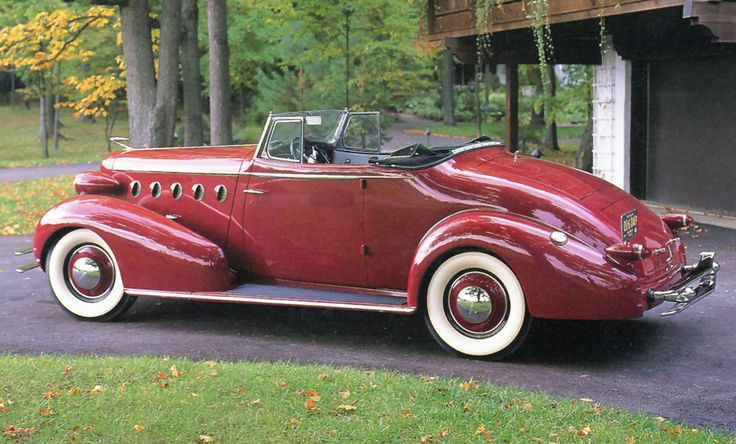 1934 LaSalle Convertible Coupe - (LaSalle brand marketed by General Motors Cadillac division, Detroit, Michigan (1927-1940)