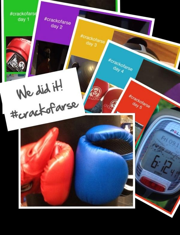 @meeper12w: Day 5 We did it!! Hubby & I made it every day! #crackofarse November done :)