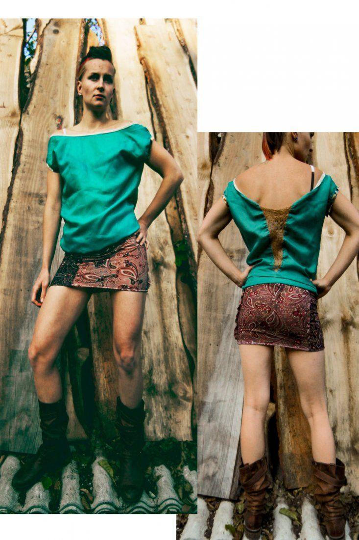 RECYCLING Tunic DRESS (proj. MisZmASz recycling fashion), do kupienia w DecoBazaar.com