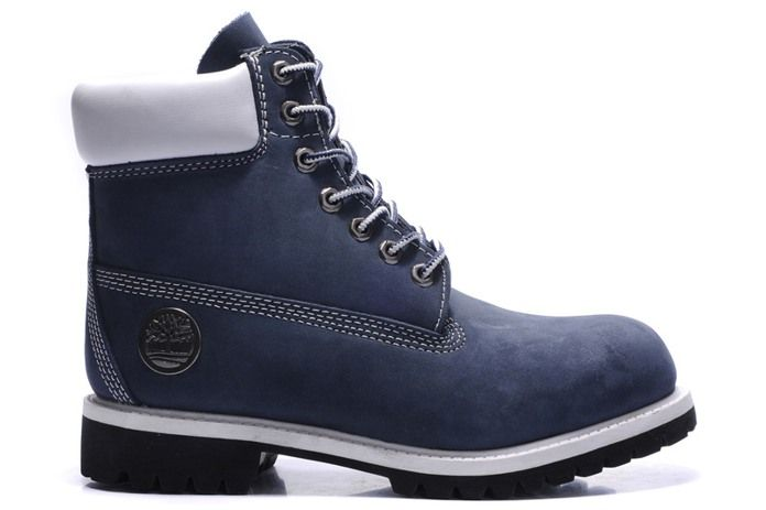 Australia Timberland 10061 Mens Boots Shoes Leather Blue White-Boots