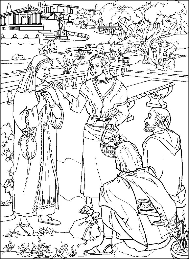 acts coloring pages - photo#43