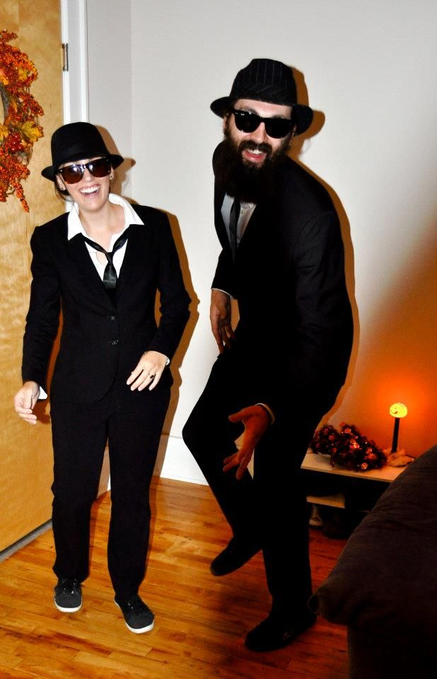 blues brothers costume - cheap and easy!