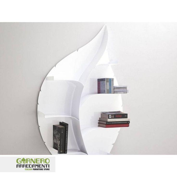 Libreria parete foglia Tomasucci