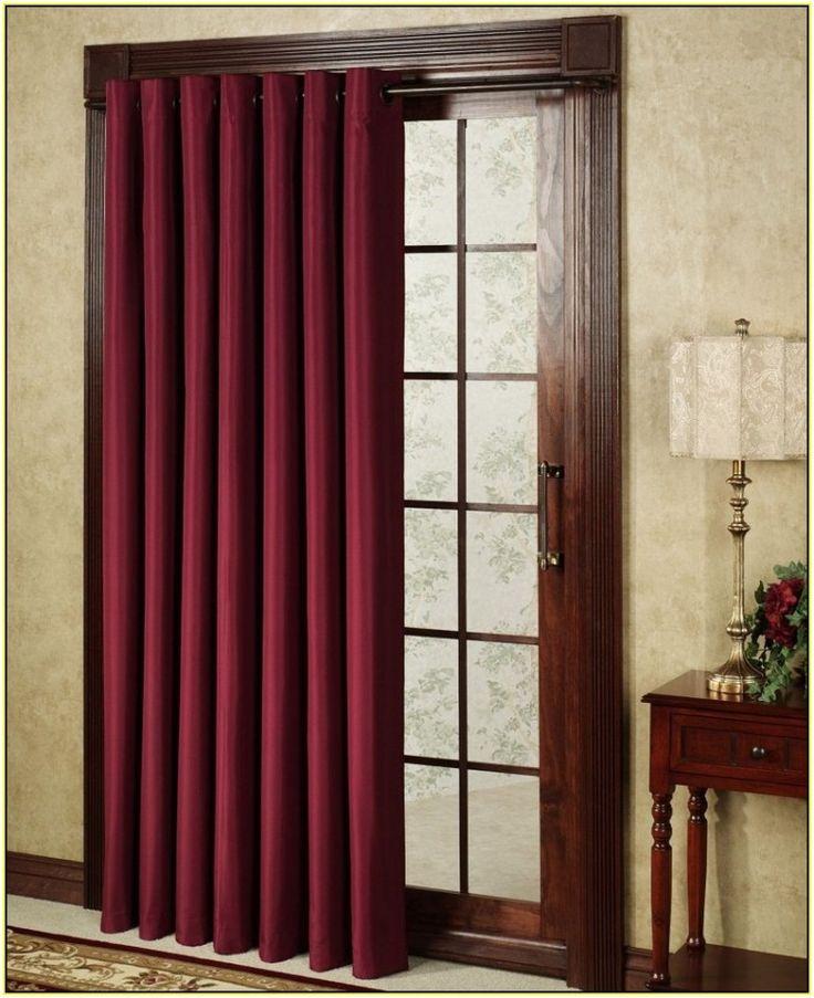 best 25 curtains for sliding doors ideas on pinterest sliding door window treatments sliding. Black Bedroom Furniture Sets. Home Design Ideas