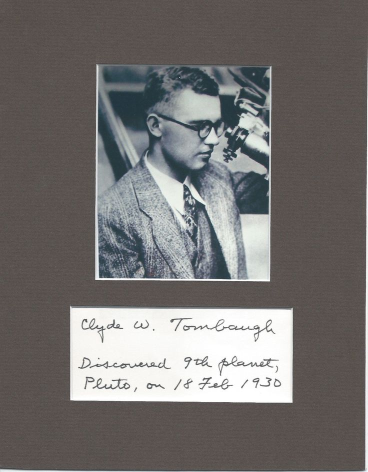 clyde tombaugh Clyde tombaugh discovered pluto in 1930, and ever since then, astronomers have celebrated the birthday of the man who opened the outer solar system to our view.