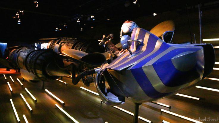 StarWars - Pod 1 - The Pod module of Anakin Skywalker in Star Wars Episode 1 The Phantom Menace; seen @ the french Star Wars Identities expo near Paris