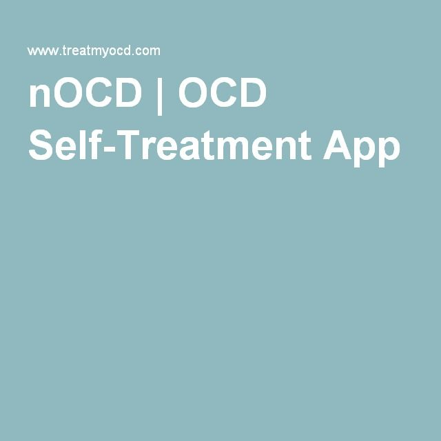 nOCD | OCD Self-Treatment App