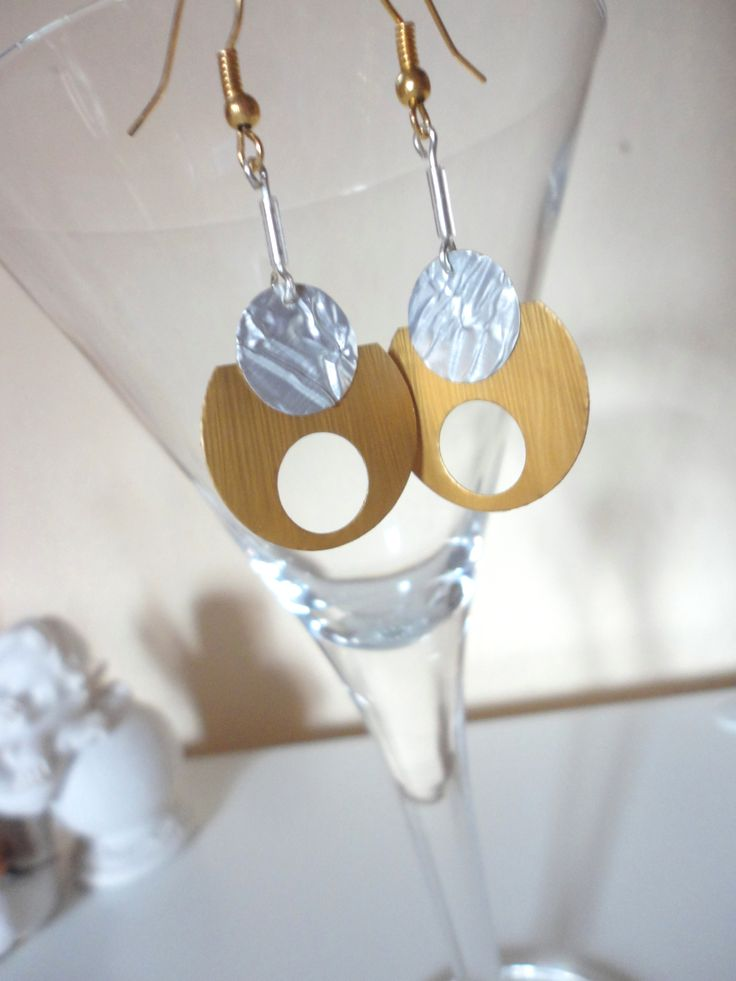 Nespresso Plättchen Ohrringe auf dawanda artXdesign shadisha