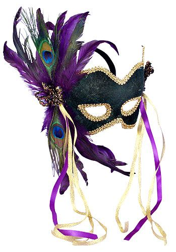 Mardi Gras Mask.  I'm picturing a boudoir session with lots of black lace.  Or leather?