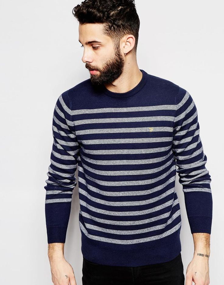 Farah Jumper with Breton Stripe