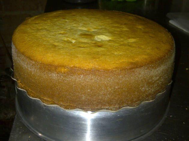Torta sin huevos ni mantequilla