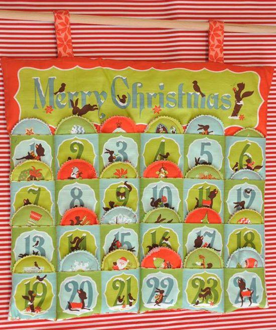 Ημερολόγια αντίστροφης μέτρησης Χριστουγέννων από το Happy Hippie!