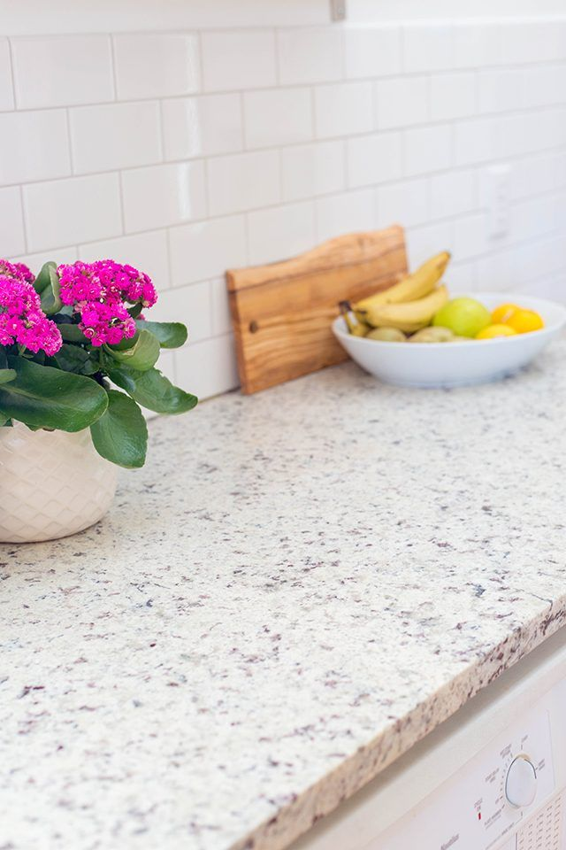 How to seal granite kitchen counters // Sealed granite countertops are impervious to stains.