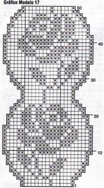 Patterns and motifs: Crocheted motif no. 986