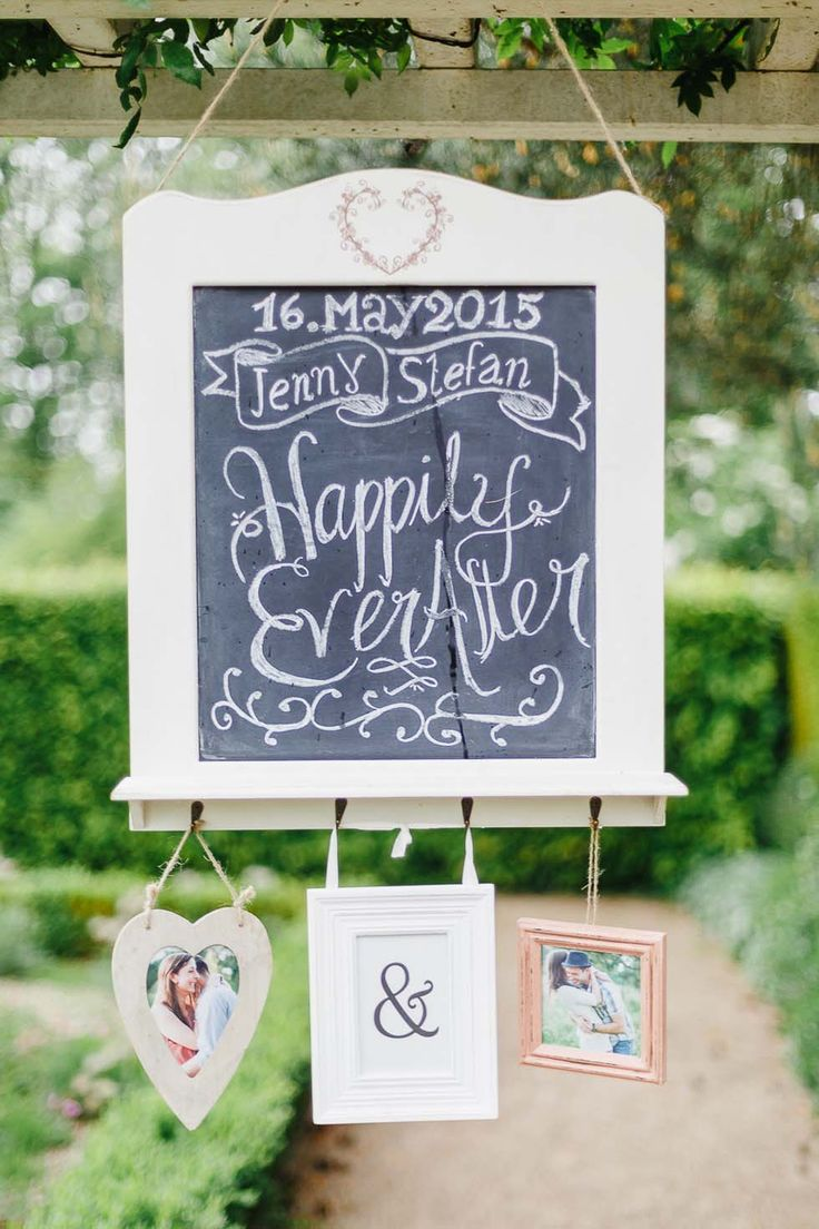 Happily ever after sign – Hochzeit Schild