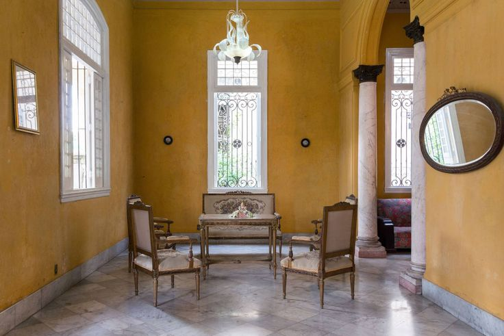 House in Vedado, Cuba. 1920s stunning residence. Live with a Cuban family & experience the REAL Cuba; its culture, food & daily life. Spacious & renovated accommodation. Fully secured garage on premises. Close to the malecon, Coppelia, Hotel Nacional & 23rd St transport...