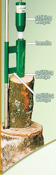 Smart Splitter Manual Weight Log Splitter