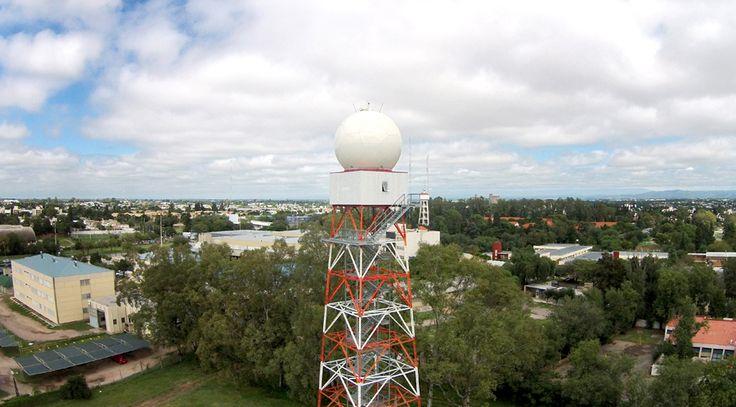Radar Meteorológico Argentino instalado en Córdoba.