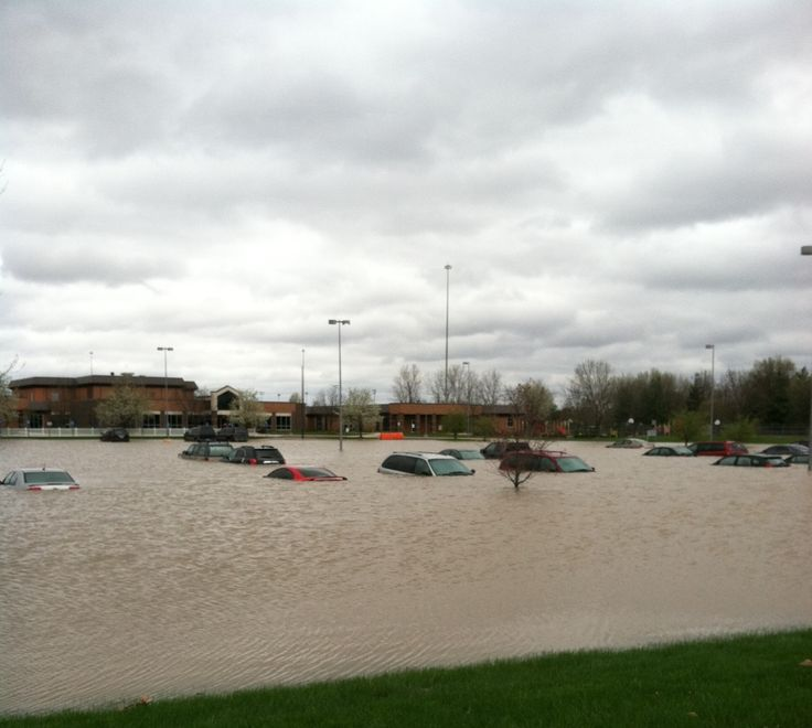 Tipton County Indiana Is Now Under State Of Emergency Due To Flooding