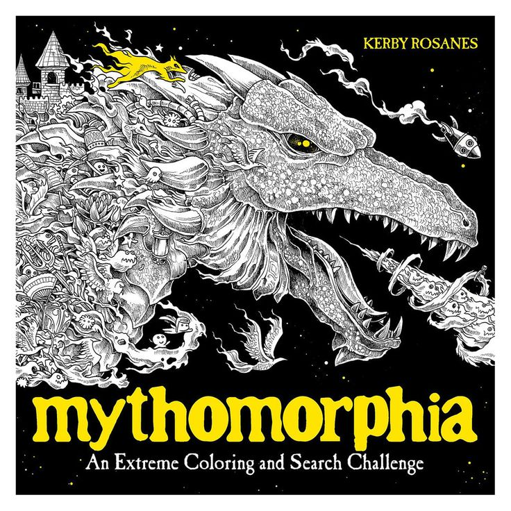 Plume Mythomorphia An Extreme Coloring And Search Challenge