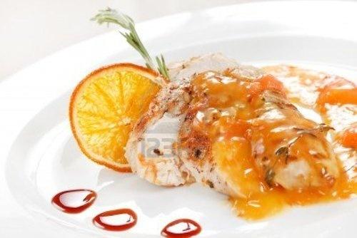 Chicken With Orange Sauce: Recipes Chicken, Chicken Recipes, Orange Zest, Chicken Dishes, Orange Sauces, Spicy Honey, Orange Glaze, Honey Orange, Chicken Breast