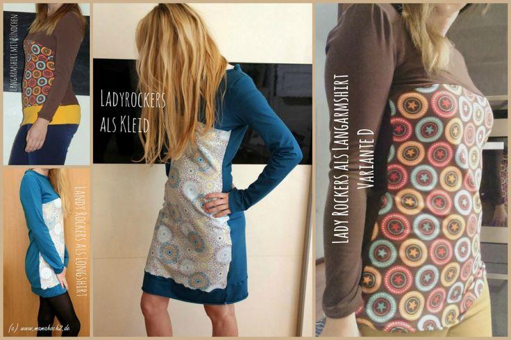 Freebook Lady Rockers - Kleid, Shirt, Longshirt von mamahoch2