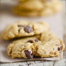 Chia, Pumpkin and Hemp Trail Mix Chocolate Chip Cookies - use GF ...