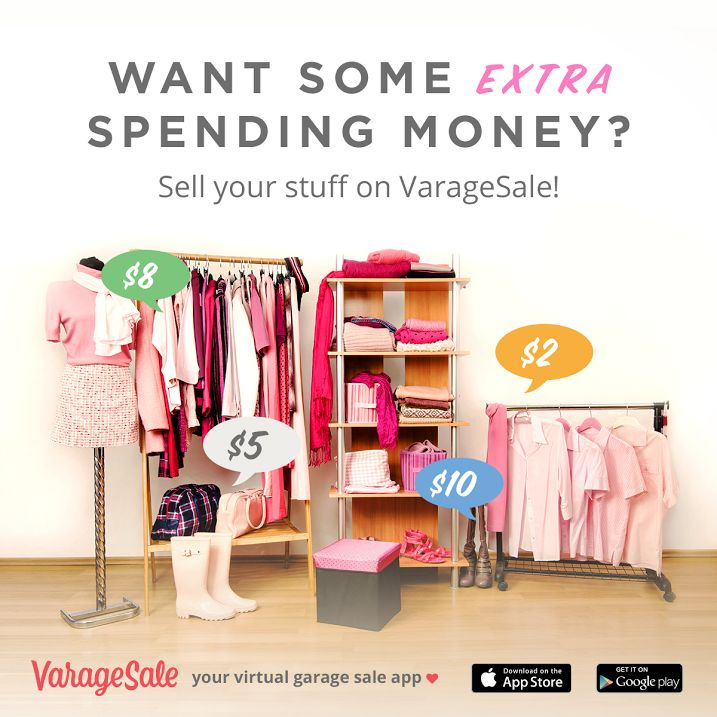Join the fast growing community of sellers and deal finders on VarageSale, the virtual garage sale app that is a free and safe way to find deals in your area. #VarageSaleDFW