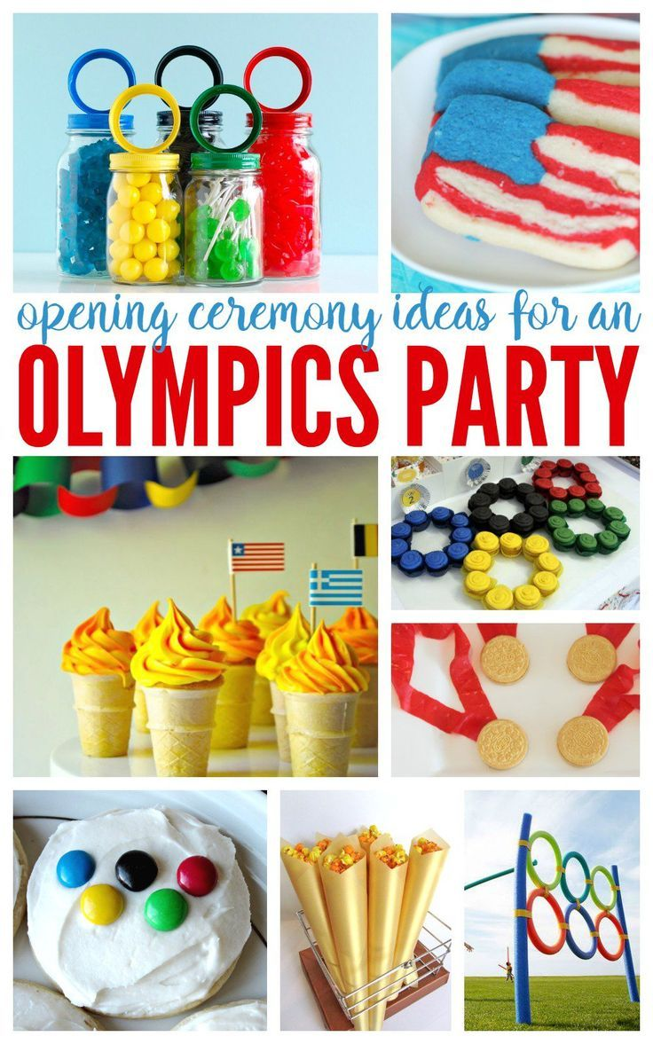 Opening Ceremony Olympic Party Ideas! Rio Olympic Games Recipes, Snacks, and MORE!