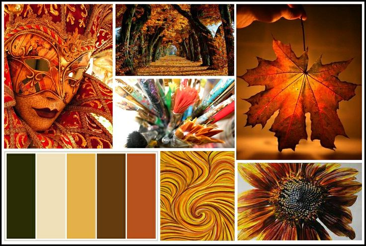 Be inspired by this month's MoodBoard full to the brim with the gorgeous hues of autumn. Board created by KymC