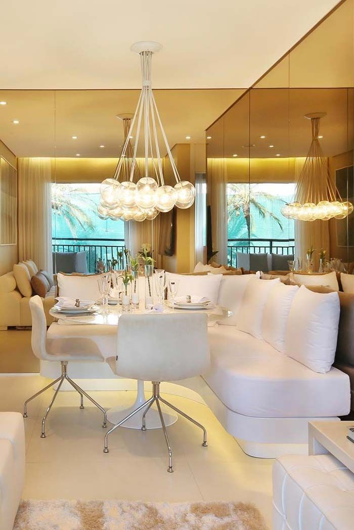 Canto Alemao Luxuoso Com Imagens Sala De Jantar Moderna Sala
