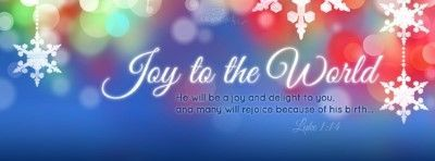 Joy to the World Facebook Cover