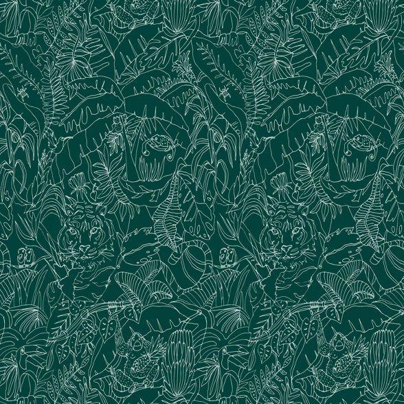 Jungle Animals Peel Stick Wallpaper Opalhouse In 2020 Peel And Stick Wallpaper Jungle Wallpaper Target Wallpaper