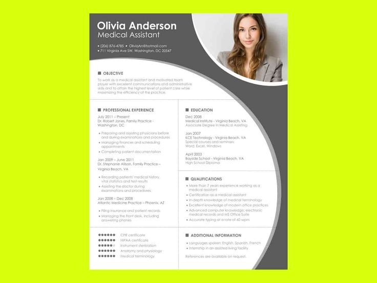 Best 25+ Chronological resume template ideas on Pinterest Resume - website resume examples