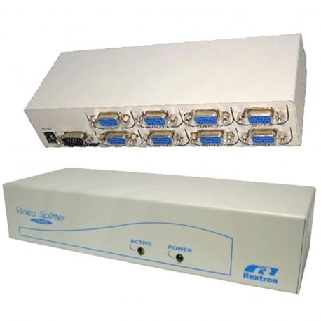 Buy Online Now: 8 Way VGA Splitter VSA18 - Fast Shipping to anywhere in Australia