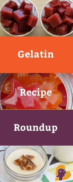 To encourage us all to include more of this precious protein in our lives, here's a roundup of 10 awesome gelatin recipes. http://www.mamanatural.com/gelatin-recipes-roundup/
