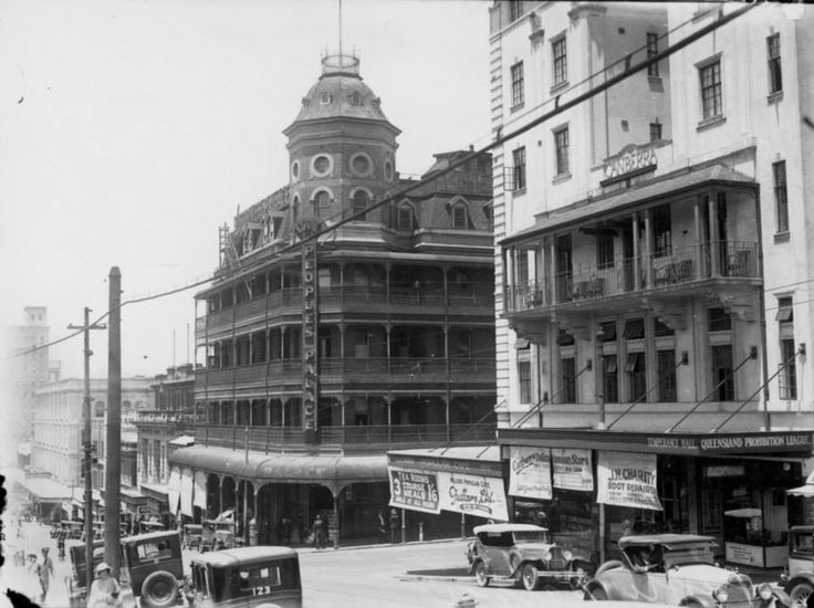 People's Palace, cnr Ann and Edward Streets, 1932