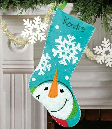 Already going to make these New Christmas stockings haha