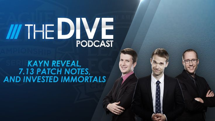 The Dive: Kayn Reveal 7.13 Patch Notes and Invested Immortals (Season 1 Episode 13) https://www.youtube.com/watch?v=AFSqiLYWl6A #games #LeagueOfLegends #esports #lol #riot #Worlds #gaming
