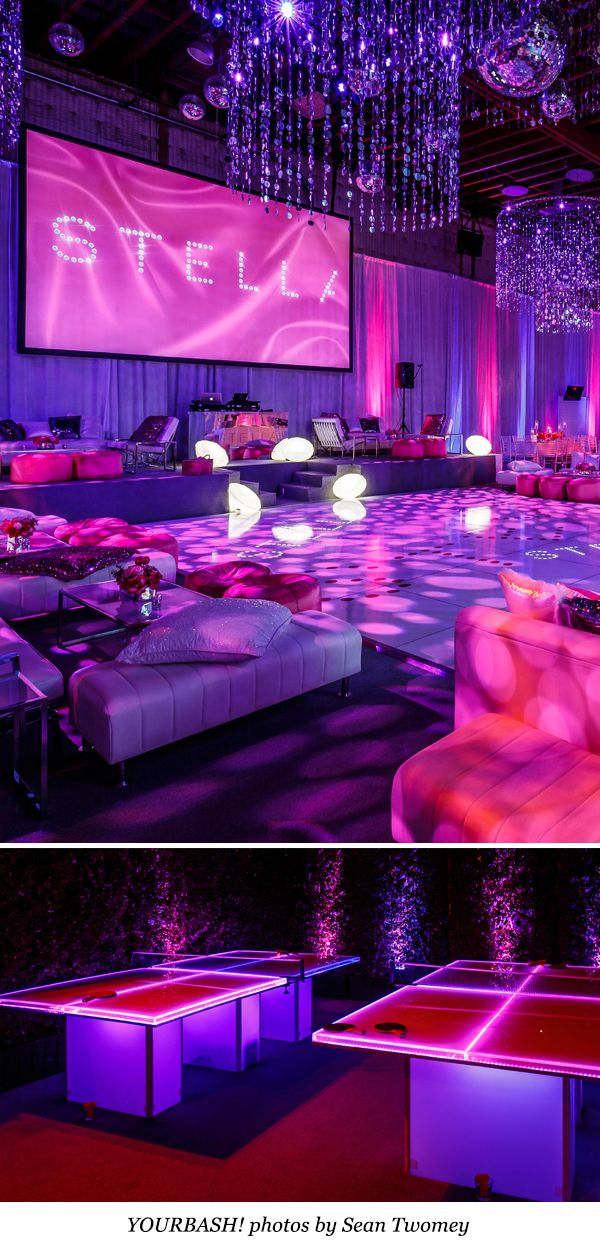 Find Wildly Creative Bat Mitzvah Themes From Top Event Pros Partyslate S Best Of Sweet 16 Birthday Quinceanera