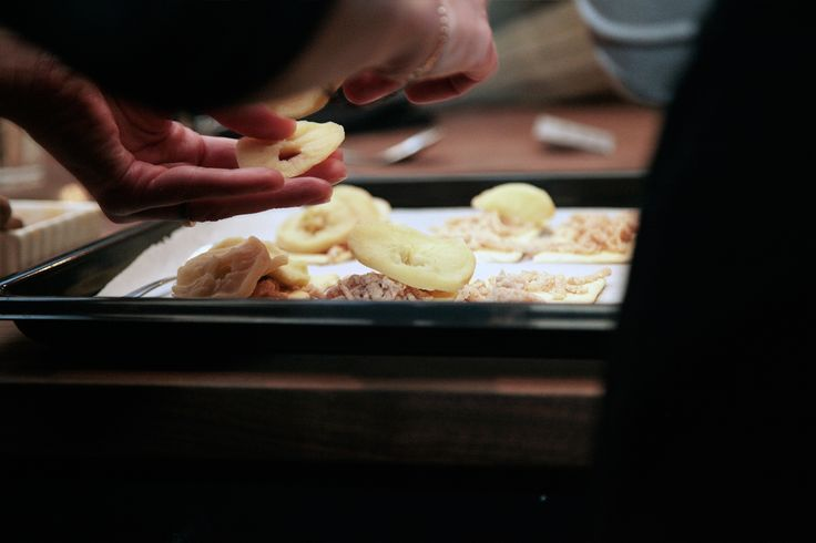 Cecilia's Farm - Apple & Almond Tarts  Dried fruit. Once Upon A Farm.