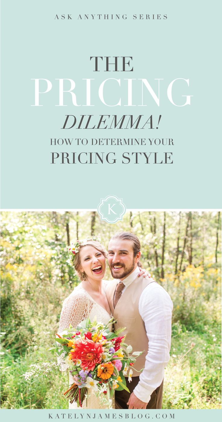 The Pricing Dilemma | Virginia Wedding Photographer | Katelyn James Photography