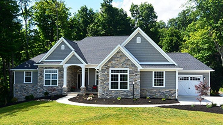 Home Plan HOMEPW75661 - 2449 Square Foot, 3 Bedroom 2 Bathroom + French Country Home with 3 Garage Bays | Homeplans.com