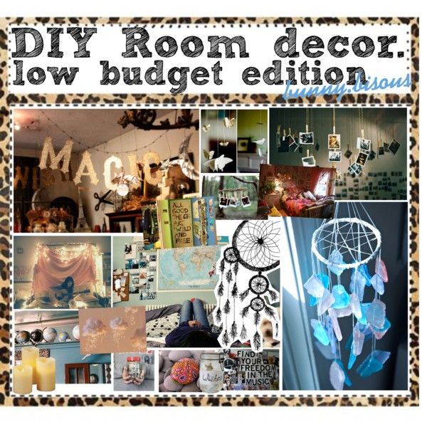 Diy Room Decor Hipster tumblr rooms--great on a budget | teen room redo diy | pinterest