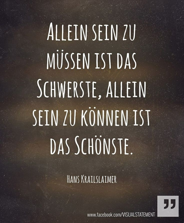 Allein sein will gelernt sein... www.pinkcompass.de... - http://1pic4u.com/2015/09/08/allein-sein-will-gelernt-sein-www-pinkcompass-de/