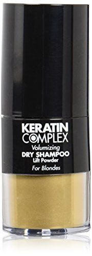 Keratin Complex Volumizing Dry Shampoo Lift Powder  Blonde by Keratin for Unisex  031 oz Powder *** Click on the image for additional details.