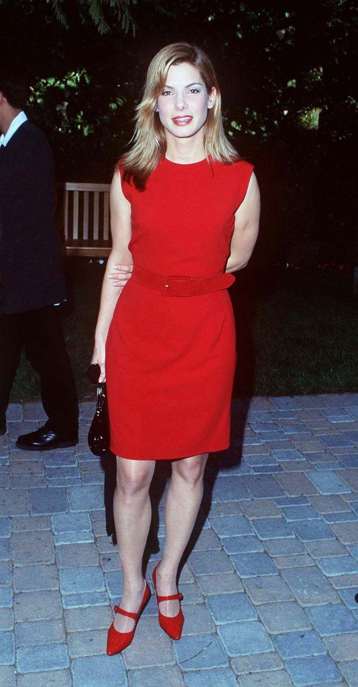 Pin for Later: So liefen die Stars zum ersten Mal über den roten Teppich Sandra Bullock, 1995